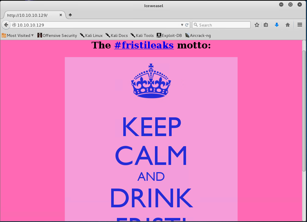 Fristileaks 1 3 CTF Writeup | Simon Roses Femerling – Blog